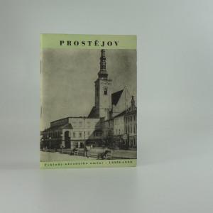náhled knihy - Prostějov (Poklady národního umění sv. 79-80)