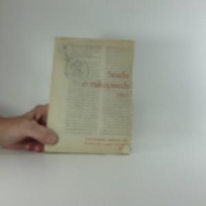 náhled knihy - Studie o rukopisech 1963