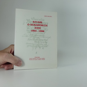náhled knihy - Studie o rukopisech 1995-1996