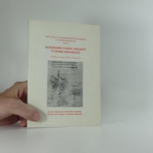 náhled knihy - Rukopisné fondy archivů v České republice