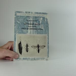 náhled knihy - Užitečný hmyz a jeho význam pro ochranu lesa