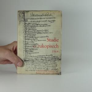náhled knihy - Studie o rukopisech 1964