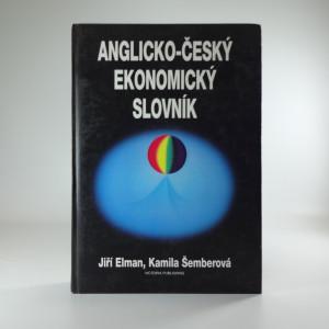 náhled knihy - Anglicko-český ekonomický slovník