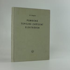 náhled knihy - Pomocná tepelná zařízení elektráren