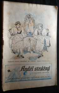náhled knihy - Anděl strážný, ročník 63. číslo 9.
