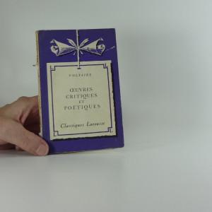náhled knihy - Œuvres critiques et poétiques : (extraits)
