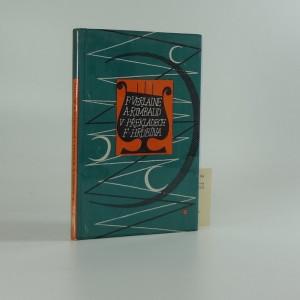 náhled knihy - P. Verlaine A. Rimbaud v překladech F. Hrubína. Mé tulactví.