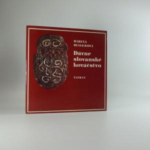 náhled knihy - Dávne slovanské kováčstvo