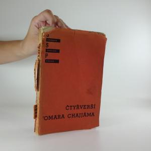 náhled knihy - Čtyřverší Omara Chajjáma