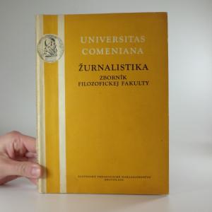 náhled knihy - Žurnalistika zborník filozofickej fakulty