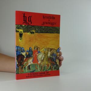 náhled knihy - heraldika a genealogie (1 - 2, 38. ročník)