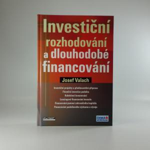 náhled knihy - Investiční rozhodování a dlouhodobé financování