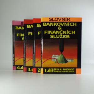 náhled knihy - Slovník bankovních & finančních služeb 1.- 4. díl
