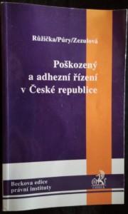 náhled knihy - Poškozený a adhezní řízení v České republice