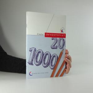 náhled knihy - Umění investovat