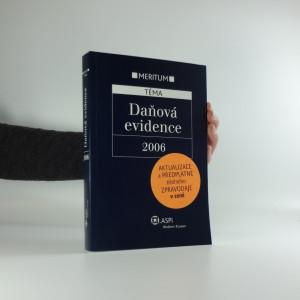 náhled knihy - Daňová evidence 2006