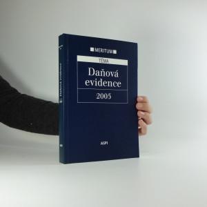 náhled knihy - Daňová evidence : výklad je zpracován k právnímu stavu ke dni 1. 1. 2005