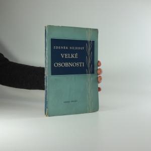 náhled knihy - Velké osobnosti