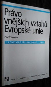 náhled knihy - Právo vnějších vztahů Evropské unie