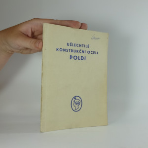 náhled knihy - Ušlechtilé konstrukční oceli Poldi