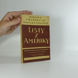 náhled knihy - Listy z Ameriky