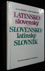 náhled knihy - Latinsko-slovenský, slovensko- latinský slovník