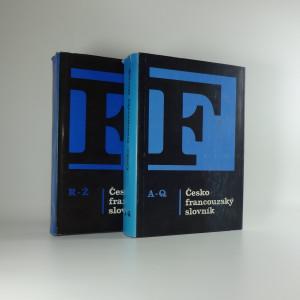 náhled knihy - Česko-francouzský slovník = Dictionnaire tchèque-français (2 svazky)