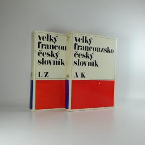 náhled knihy - Velký francouzsko-český slovník = Grand français tchèque dictionnaire (2 svazky)