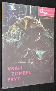 náhled knihy - Dobrodružné romány Smena, č. 111 Vrah zomrel prvý