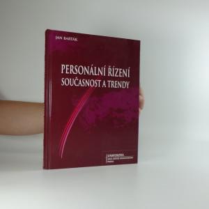 náhled knihy - Personální řízení, současnost a trendy