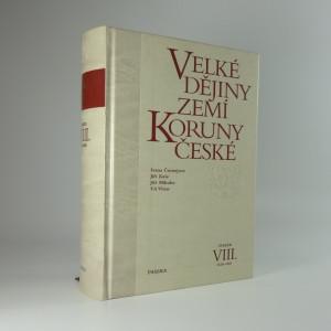 náhled knihy - Velké dějiny zemí Koruny české (VIII.)