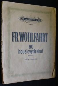 náhled knihy - Fr. Wohlfahrt: 60 houslových etud