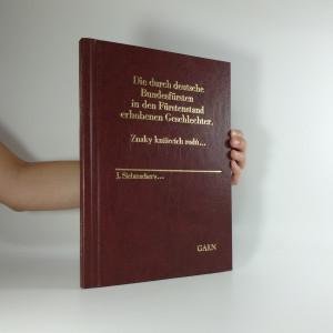 náhled knihy - Znaky knížecích rodů... Die durch deutsche Bundesfürsten in den Fürstenstand erhobenen Geschlechter