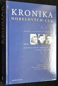 náhled knihy - Kronika nobelových cen: Portréty 758 osobností a organizací
