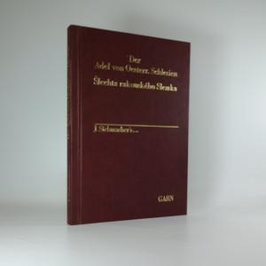 náhled knihy - Šlechta rakouského Slezska. Der Adel von Oesterr. Schlesien.