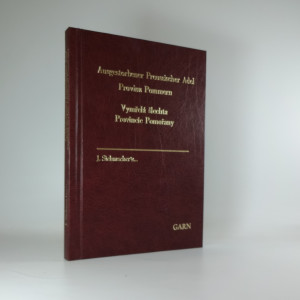 náhled knihy - Vymřelá šlechta Provincie Pomořany. Ausgestorbener Preussischer Adel; Provinz Pommern.