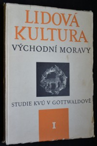 náhled knihy - Lidová kultura východní Moravy