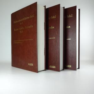 náhled knihy - Šlechta Dolního Rakouska. Der Niederösterreichische Adel. (3 svazky)