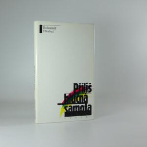 náhled knihy - Příliš hlučná samota