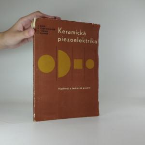 náhled knihy - Keramická piezoelektrika