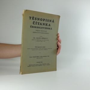 náhled knihy - Těsnopisná čítanka československá podle soustavy Heroutovy-Mikulíkovy