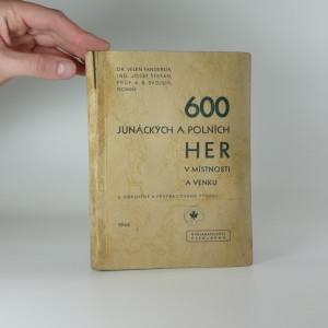 náhled knihy - 600 junáckých a polních her v místnosti a venku