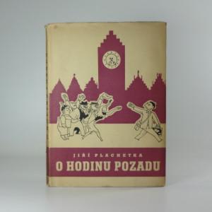 náhled knihy - O hodinu pozadu : Humoristická reportáž Praha-Paříž-Brusel-Ostende s přestupováním