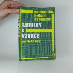 náhled knihy - Matematické, fyzikální a chemické tabulky a vzorce pro střední školy