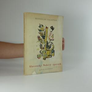 náhled knihy - Slovenský ľudový spevník