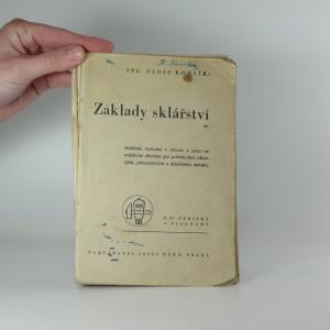 náhled knihy - Základy sklářství