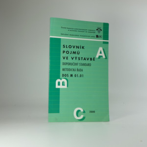 náhled knihy - Slovník pojmů ve výstavbě : doporučený standard, metodická řada DOS M 01.01