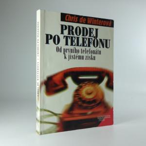 náhled knihy - Prodej po telefonu / od prvního telefonátu k jistému zisku