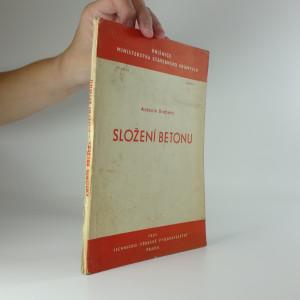náhled knihy - Složení betonu