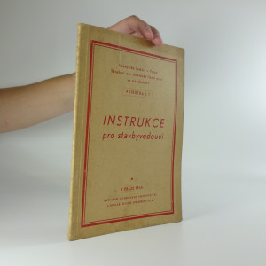 náhled knihy - Instrukce pro stavbyvedoucí